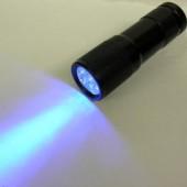 UV Φωτοβόλο σκόνης για τον εντοπισμό κίνησης των ποντικιών και αρουραίων