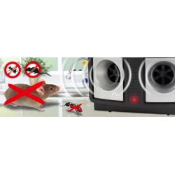 Υπερηχητική συσκευή DUO για ποντίκια, αρουραίους και μυρμήγκια GARDIGO για 250 τ.μ.