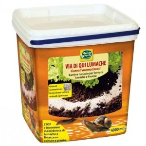 Απωθητικό για γυμνά σαλιγκάρια και σαλιγκάρια κήπου- 4000 ml.
