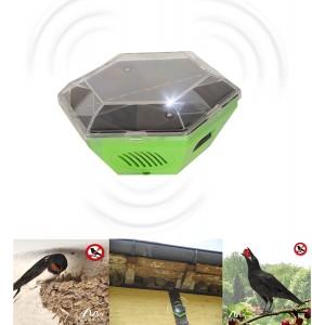 Ηλιακή κινητή συσκευή υπερήχων για πτηνά (ΧΕΛΙΔΟΝΙΑ, ΠΕΡΙΣΤΕΡΙΑ, ΓΛΑΡΟΙ) για 150 τ.μ.  GARDIGO