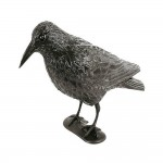 ΚΟΡΑΚΙ σε φυσικό μέγεθος σκιάχτρο μικρών πτηνών