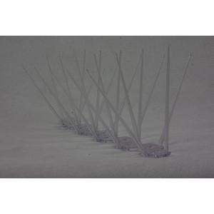 Αιχμές κατά των πτηνών,5 σειρών απο μέταλλο - 1 μέτρο