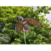 Αδιάβροχη ΚΟΥΚΟΥΒΑΓΙΑ με άνοιγμα φτερών 110 εκ. διώχνει πουλιά (ΠΕΡΙΣΤΕΡΙΑ, ΨΑΡΟΝΙΑ, ΣΠΟΥΡΓΙΤΙΑ  κ. α)  και τρωκτικά (ΠΟΝΤΙΚΙΑ, ΑΡΟΥΡΑΙΟΥΣ, ΚΟΥΝΕΛΙΑ κ. α)